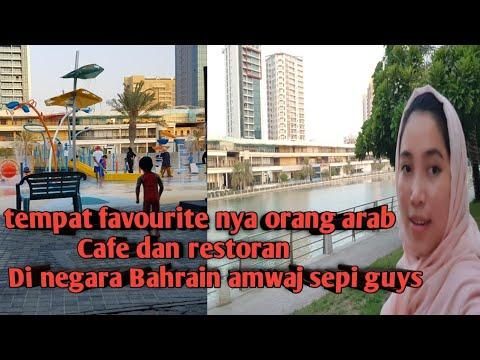 Daily vlog di negara Bahrain🇧🇭 main di Amwaj nyenengin bociL