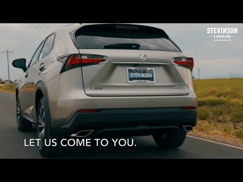 Vehicle Pick Up And Drop Off For Service At Stevinson Lexus Of Frederick