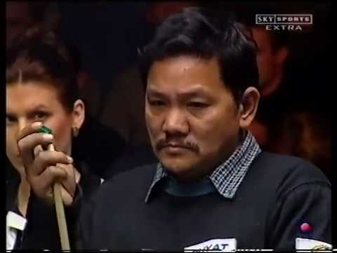 Steve Davis Vs Efren Reyes   World Pool League Final 2002