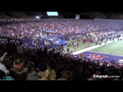 Black out at Super Bowl XLVII  leaves players in the dark