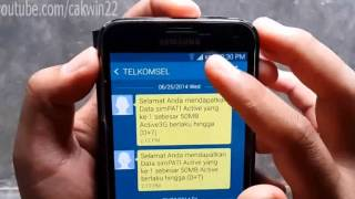 Samsung Galaxy S5 : How to Delete Log SMS Message (Android Phone)