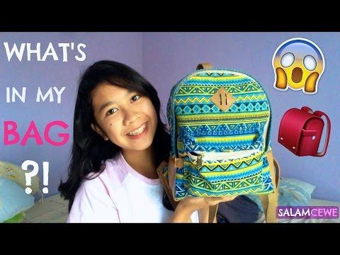 WHAT'S IN MY BAG ? | INDONESIA | SALAMCEWE - ISABEL CEWE