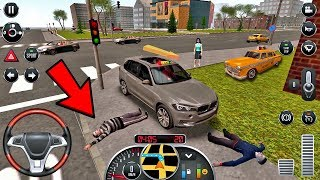 Taxi Sim 2016 #15 - DANGEROUS or FUNNY RIDE!? 😂 Taxi Game Android IOS gameplay #taxigames
