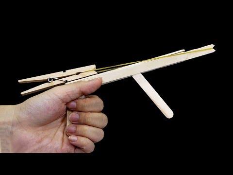 2 Ways To Make a Rubber Band Gun