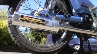 honda c90 yoshimura race exhaust