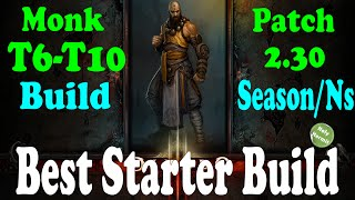 Diablo 3 Best Farming Monk Build for Season 4 and Patch 2.30 (T6-T10 Fast clears)