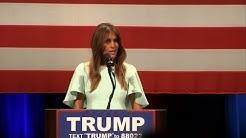 USA: Donald Trump enrôle sa femme Melania dans sa campagne