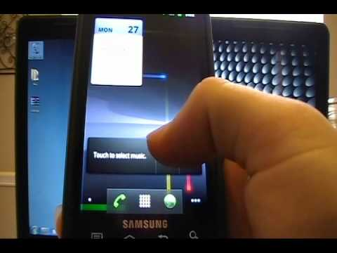 Samsung Captivate (Android 2.3 Gingerbread BETA)