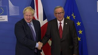 UK and EU strike new Brexit deal | AFP