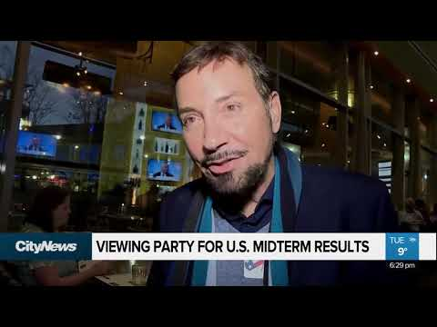 Vancouver viewing party for U.S. midterm results