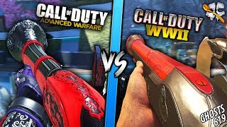 Advanced Warfare Blunderbuss VS WW2 Blunderbuss