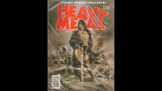 Heavy Metal Magazine Covers 1977-2000