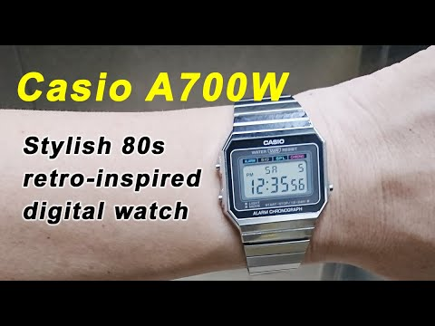 Review of the Casio A700W (A700W-1A)