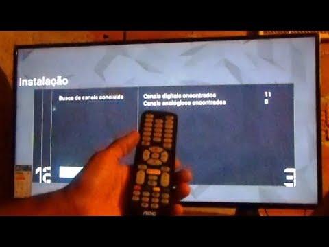 Como Sintonizar canais digitais na Smart TV AOC