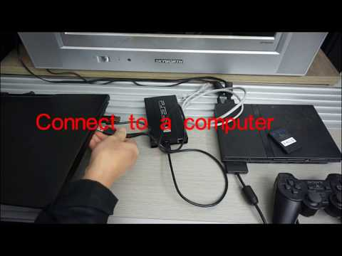 PS2NetBox ISO Manager Network Adapter For Sony PS2 7xxxx/9xxxx Video Game Console