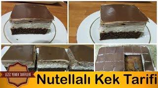 Nutellalı Kek Tarifi | Nutellalı Kek en iyi şekilde nasıl yapılır ?