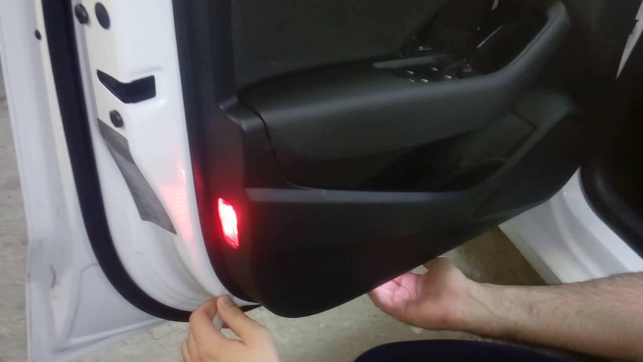 Audi A3 2016 Door Panel Removal снятие обшивки двери