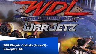WDL Warjetz - Valhalla (Arena 3) - Gameplay PSX