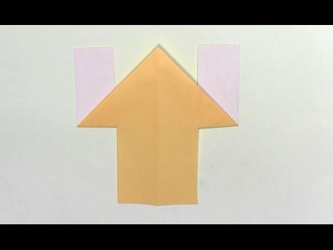簡単 折り紙 折り紙犬折り方立体 : youtube.com