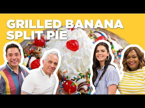 Grilled Banana Split Pie (from The Kitchen)   Food Network