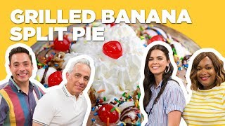 Grilled Banana Split Pie (from The Kitchen) | Food Network