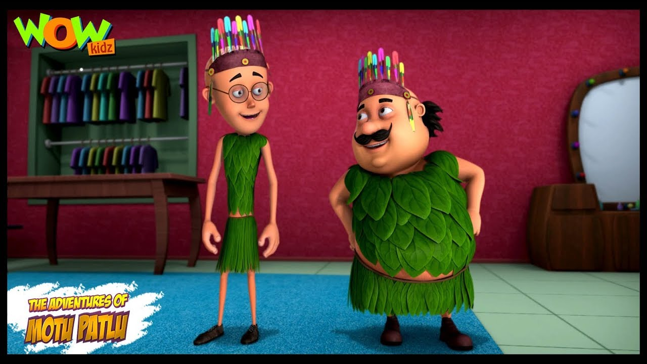 Motu Patlu New Episode | Cartoons | Kids TV Shows | Motu Patlu Ka Fashion Show | Wow Kidz