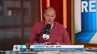 Chauncey Billups Says If The '04 Pistons Could Beat The '17 Warriors | The Rich Eisen Show | 6/12/16