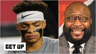 JUSTIN FIELDS! - Marcus Spears can't believe the QB isn't in talks to be the No. 3 pick | Get Up