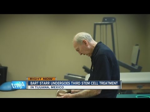 Report: Bart Starr returns to Tijuana for stem cell treatments