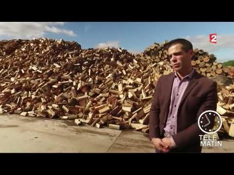 1 pack : 2400 DM³ de bûches de 40 cm + 8 sacs bois d