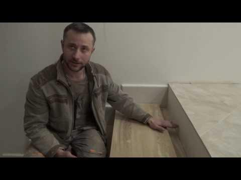 Как изготовить деревянные ступени для лестницы (учебное видео) How To Make Wooden Steps For Stairs