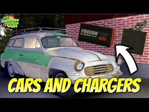 My Summer Car New Car Battery Charger Youtube