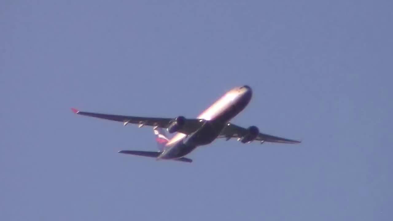 фото самолёта аэрофлот