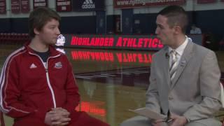 ESPN3's Michael Ventola Interviews Men's Fencer Simon Rizell