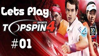 Lets Play Top Spin 4 (Deutsch) l #01 Ein neuer Stern am Tennishimmel?