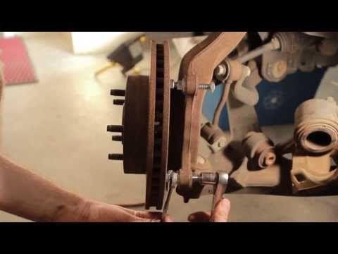Autofocus - How to remove a rusted stuck brake rotor