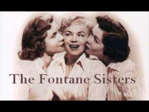 EDDIE, MY LOVE ~ The Fontane Sisters  (1956)