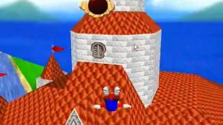 Super Mario 64 Glitches, deaths, tricks