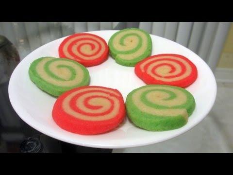 Christmas Treats How To Bake Pinwheel Cookies Youtube