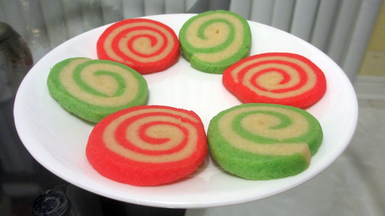 Christmas Treats How To Bake Pinwheel Cookies