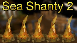 RuneScape | Firemaking For 1 Hour With Sea Shanty 2