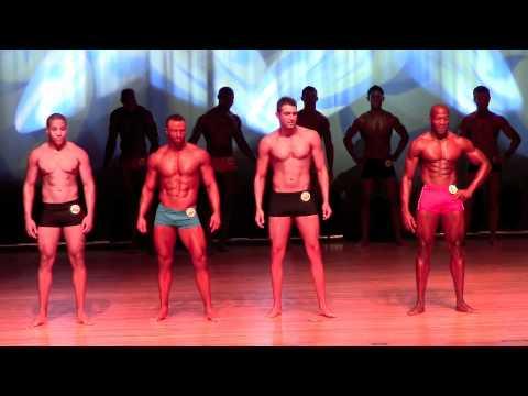 Male Fitness Model Boston Show