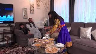 Afghan Family celebrating 'Eid in US - VOA Ashna
