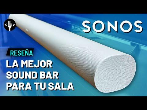 Probando la nueva bocina Sonos Arc