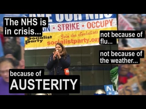 NHS demo 3 February - build the fightback