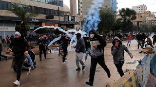 Confinement au Liban : à Tripoli, des manifestants à bout basculent dans la violence