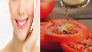 Tomato & Honey Blended together Make You Gorgeous in 10 Minutes - Easy Peasy Lemon Squeezy
