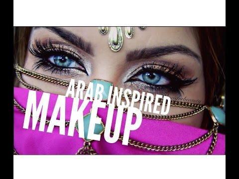 Arab inspired makeup tutorial