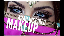 Arab inspired makeup tutorial