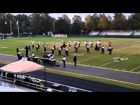 Southern Lee High School Cary band day 11/1/14